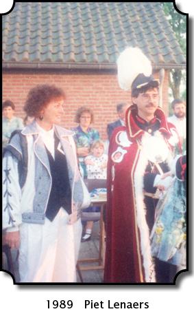 1989 Piet Lenaers